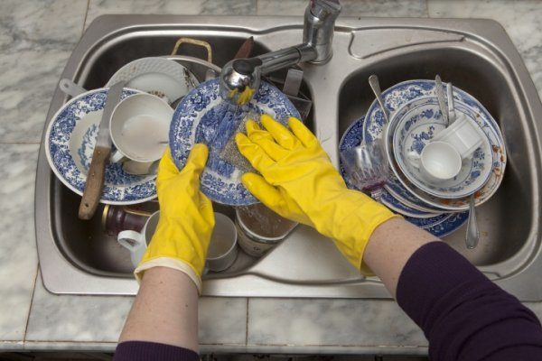 effective dish cleaning
