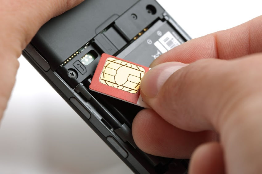Cell Phone SIM Card